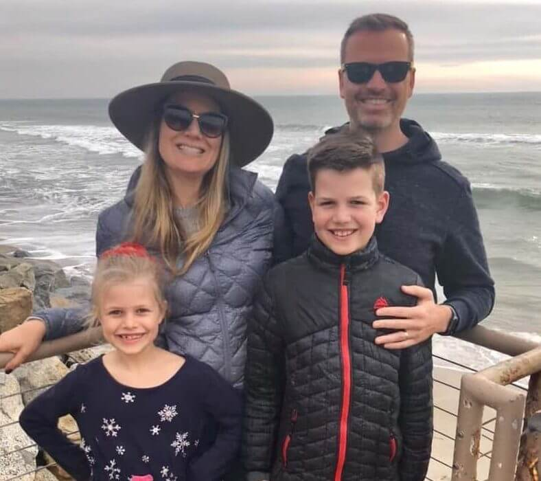 Ryan Hughe's Family
