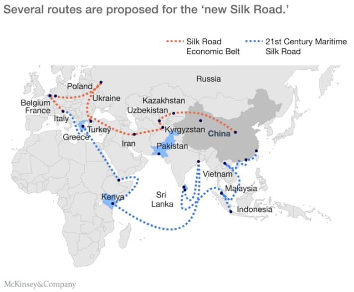 All Roads Lead To Beijing: China's Belt And Road Initiative
